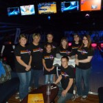 Cosmic bowling with Kohl's volunteers